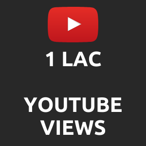 1 lac normal Youtube Views