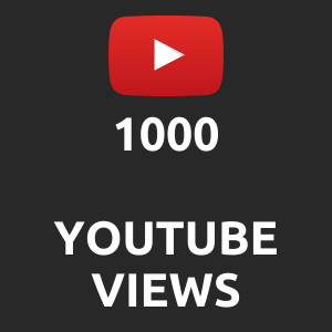 1000 normal Youtube Views