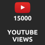15000 normal Youtube Views