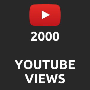 2000 normal Youtube Views