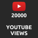 20000 normal Youtube Views