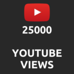 25000 normal Youtube Views