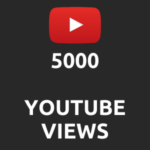 5000 normal Youtube Views