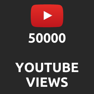50000 normal Youtube Views