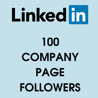 buy 100 linkedin page followers