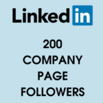 buy 200 linkedin page followers