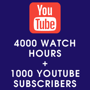 4000 youtube watch hours