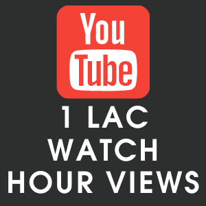 Youtube 1 lac Watch Hour Views