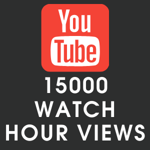 Youtube 15000 Watch Hour Views