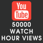 Youtube 50000 Watch Hour Views