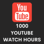 Buy 1000 youtube watch hours
